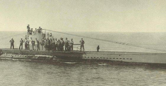 Německá ponorka U 38.