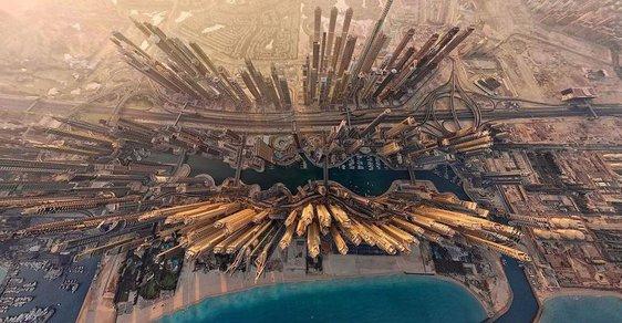 Nebeská krása symetrie. Světové metropole se ukazují tak, jak jste je ještě neviděli