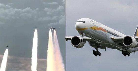 Letadlo společnosti Air India při přeletu nad Českem přestalo komunikovat. Vzlétly k němu české i německé stíhačky