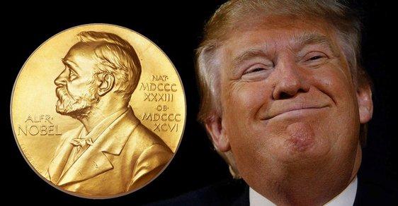 Získá Donald Trump Nobelovu cenu míru?
