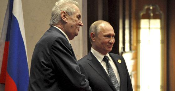 Novináře je třeba likvidovat, řekl Zeman Putinovi