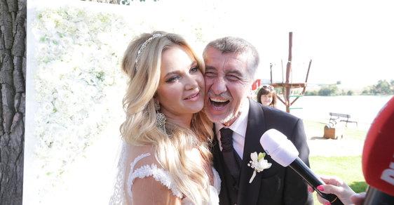 Andrej Babiš řekl ano své dlouholeté partnerce Monice, svatba proběhla na Čapím hnízdě