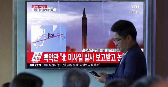 Experti tvrdí, že severokorejský diktátor Kim Čong-un testuje rakety i pro islámský režim v Íránu