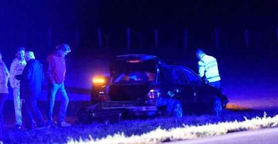 Nehoda na Znojemsku, po které ministra zahraničí Lubomíra Zaorálka transportovali do nemocnice