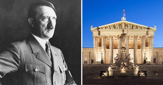 Budova rakouského parlamentu prochází rekonstrukcí.