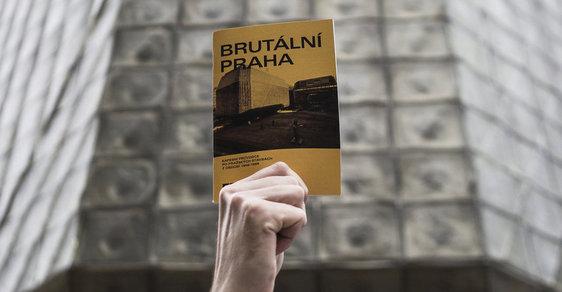 Brutální Praha: unikátní mapa výjimečných staveb konečně i v Česku! Přijďte si pro ni na Novou scénu