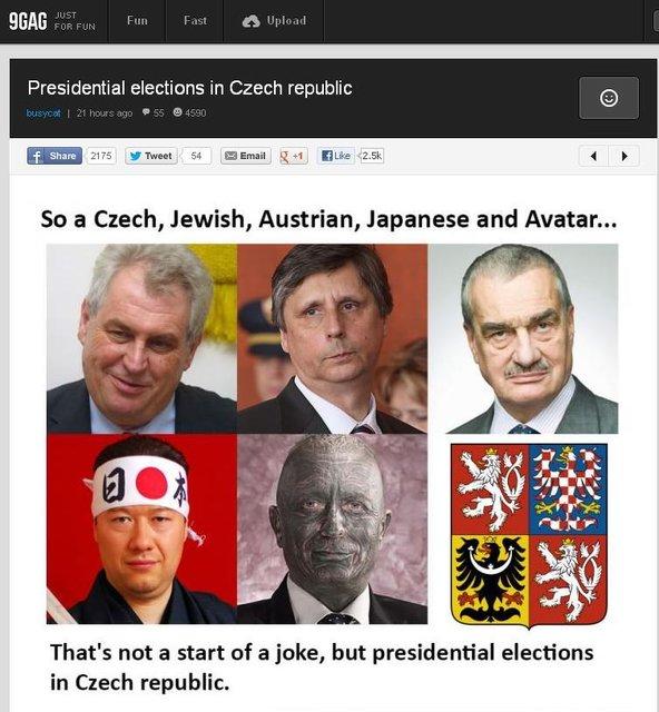 Prezidenti na 9gag.com