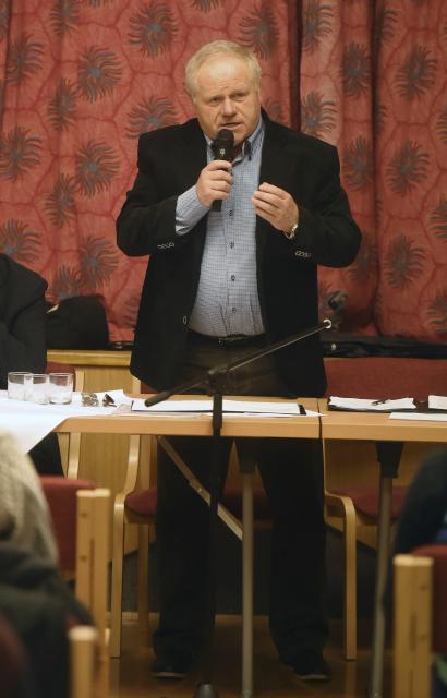 Na snímku je starosta Miroslav Nogol