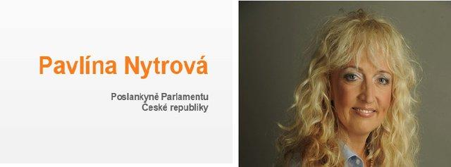 Poslankyně za ČSSD Pavlína Nytrová