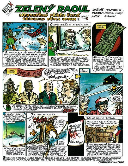 Zelený Raoul č. 1 - Klikněte na obrázel pro jeho zvětšení
