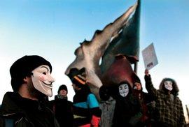Anonymous plánují na sobotu masový útok na weby parlamentních stran