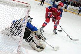 Putin, nová hvězda KHL?