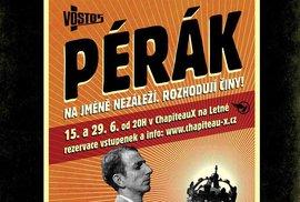 Plakát k inscenaci Pérák