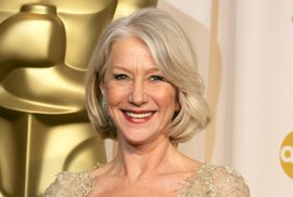 Helen Mirrenová po zisku Oscara