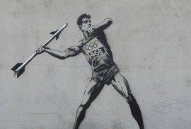 Nové olympijské dílo Banksyho