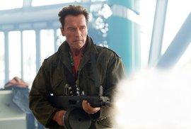 Arnold Schwarzenegger, jedna z hvězd filmu Postradatelní 2.