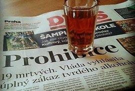 Prohibice je od pátku v ČR asi nejpoužívanějším slovem.