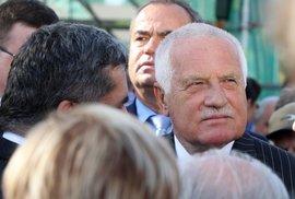 Na prezidenta Václava Klause prý spáchali atentát. Na mě taky!