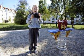 Kryštof Vaněk, fotograf, ale především šestiletý kluk, který miluje dětské hřiště.