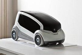 Prototyp malého hybridního automobilu pro firmu Škoda z Ateliéru produktového designu.