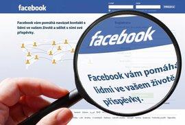 Ten Facebook nás asi opravdu šmíruje