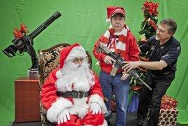 Americké Vánoce se zbraněmi