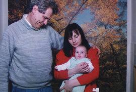 1994: Miloš Zeman s manželkou Ivanou a jejich dcerou Kateřinou