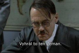 A co na prezidenta Zemana říká Hitler?
