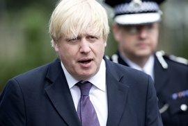 Rozdělená Británie: Starosta Londýna Johnson si přeje odchod z EU