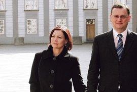 Právě kvůli Nagyové se údajně rozpadlo manželství Petra a Radky Nagyových.