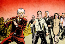 Václav Klaus zhypnotizoval politické veterány, kteří by bez něj byli nejspíš na odpis…