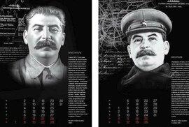 Zřejmě jako dárek pravoslavným věřícím k Vánocům vytiskla církevní tiskárna kalendář věnovaný komunistickému diktátorovi Josifu Stalinovi.
