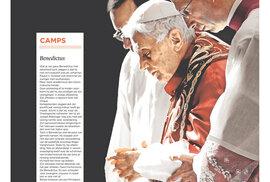 Takto před rokem na překvapivé rozhodnutí papeže Benedikta reagovaly různé světové deníky.