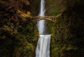 Vodopády Multnomah, Oregon USA