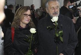 Jan Vodňanský se přišel rozloučit s hercem Landovským