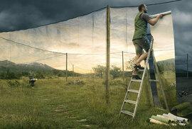 Švédský fotograf dostane vaši mysl pomocí optických klamů