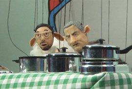 Jak mluvčí Ovčáček a kancléř Mynář vařili dort pro Zemana