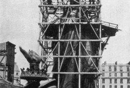 Jak vypadala proslulá socha Svobody předtím, než se dostala do New Yorku