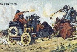 Během let 1900-1910 vytvořil francouzský malíř Jean-Marc Côté kresby svých představ budoucnosti