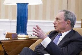 Regulace zbraní: Co neprosadil Obama přes Kongres, zaplatil miliardář Bloomberg