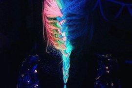 Duhové fascinující barvy