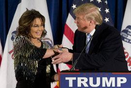 """Aljašská """"barakuda"""" Palinová dělá ostudu Trumpovi: Syn zmlátil přítelkyni, může za to Obama"""