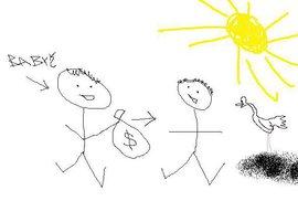 Dienstbier se zbláznil. Sbírá dětské kresby o korupci. Asi jí rozumí hůř než školáci