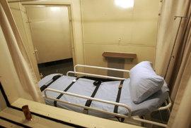Lůžko pro odsouzeného k trestu smrti