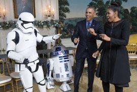 Obama a komiksy: Byl jsem nerd, ještě než to bylo in
