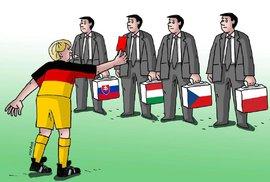 Merkelová ztrácí spojence. Bude na Evropské radě dál tlačit na přerozdělování uprchlíků?