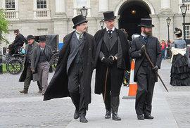 Z natáčení Ripper Street