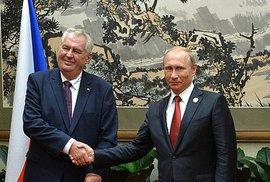 Miloš Zeman je eurofederalista. Ale vlak přes to jede...