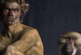 Série lidsko-zvířecích fotografií americké umělkyně Lennette Newell