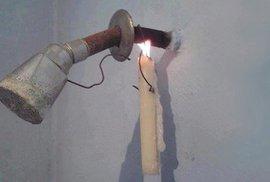 Domácí MacGyveři: Ohřev vody svíčkou? Žádný problém